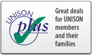 UNISON Plus - great deals for UNISON members